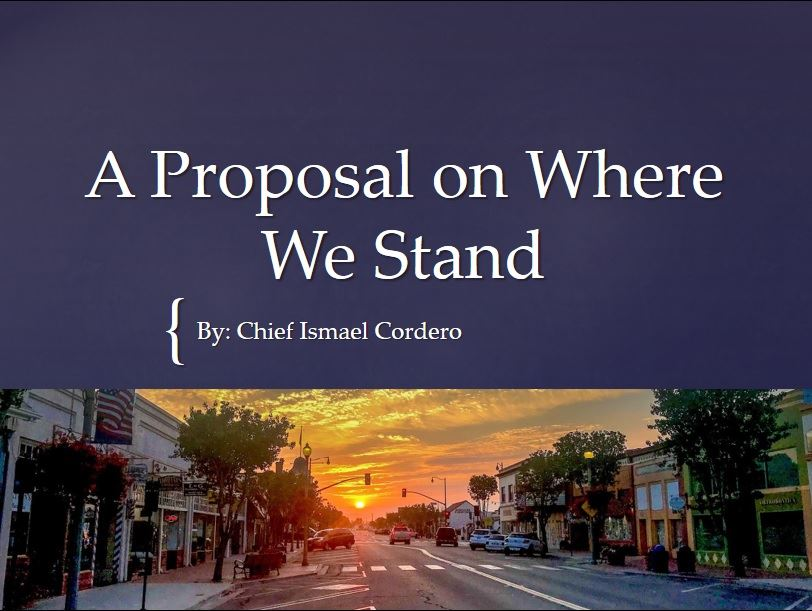 "A Power Point presentation on ""Where We Stand"""